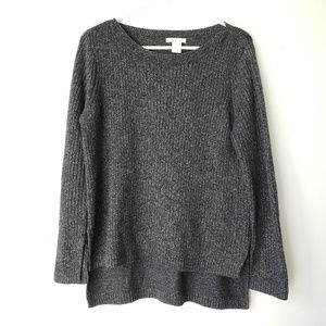 Black and silver H&M Sweater